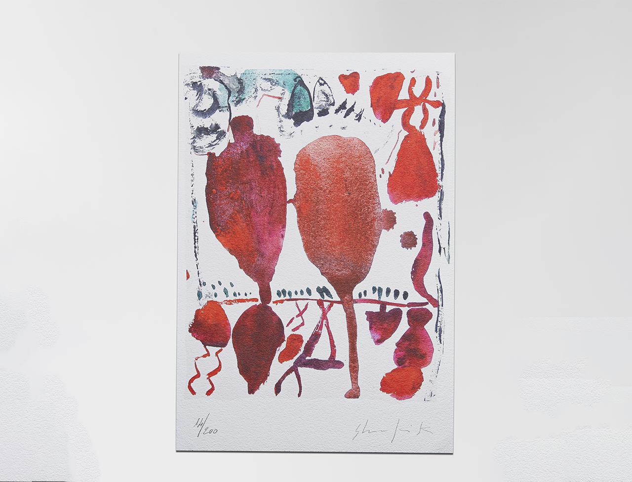 """Serigrafia """"Archetipi"""" di Medhat Shafik"""