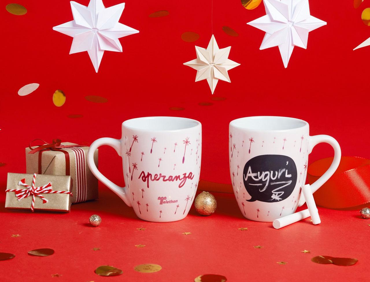 Set 2 Mug lavagna