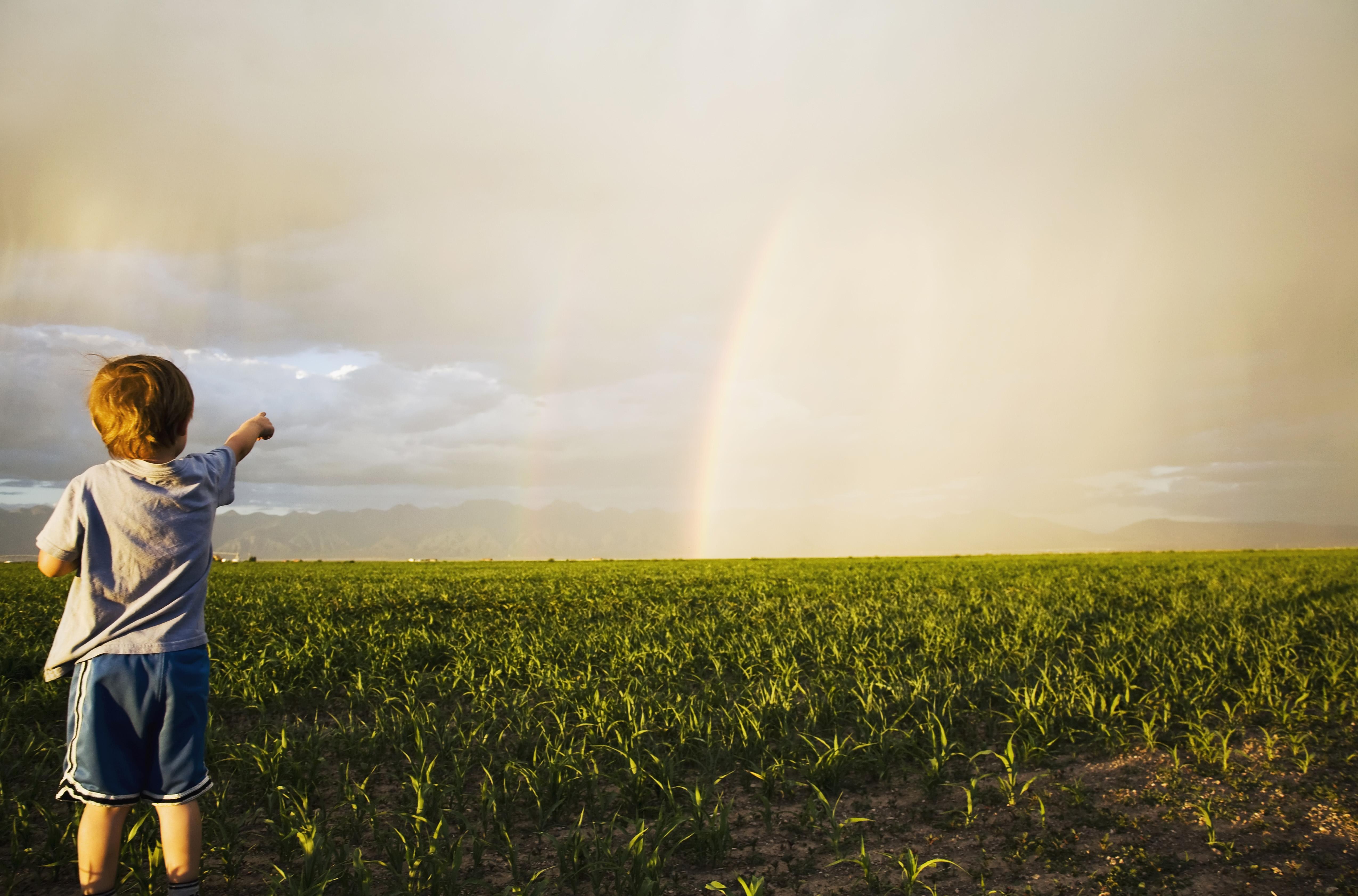 Scoprire l'arcobaleno