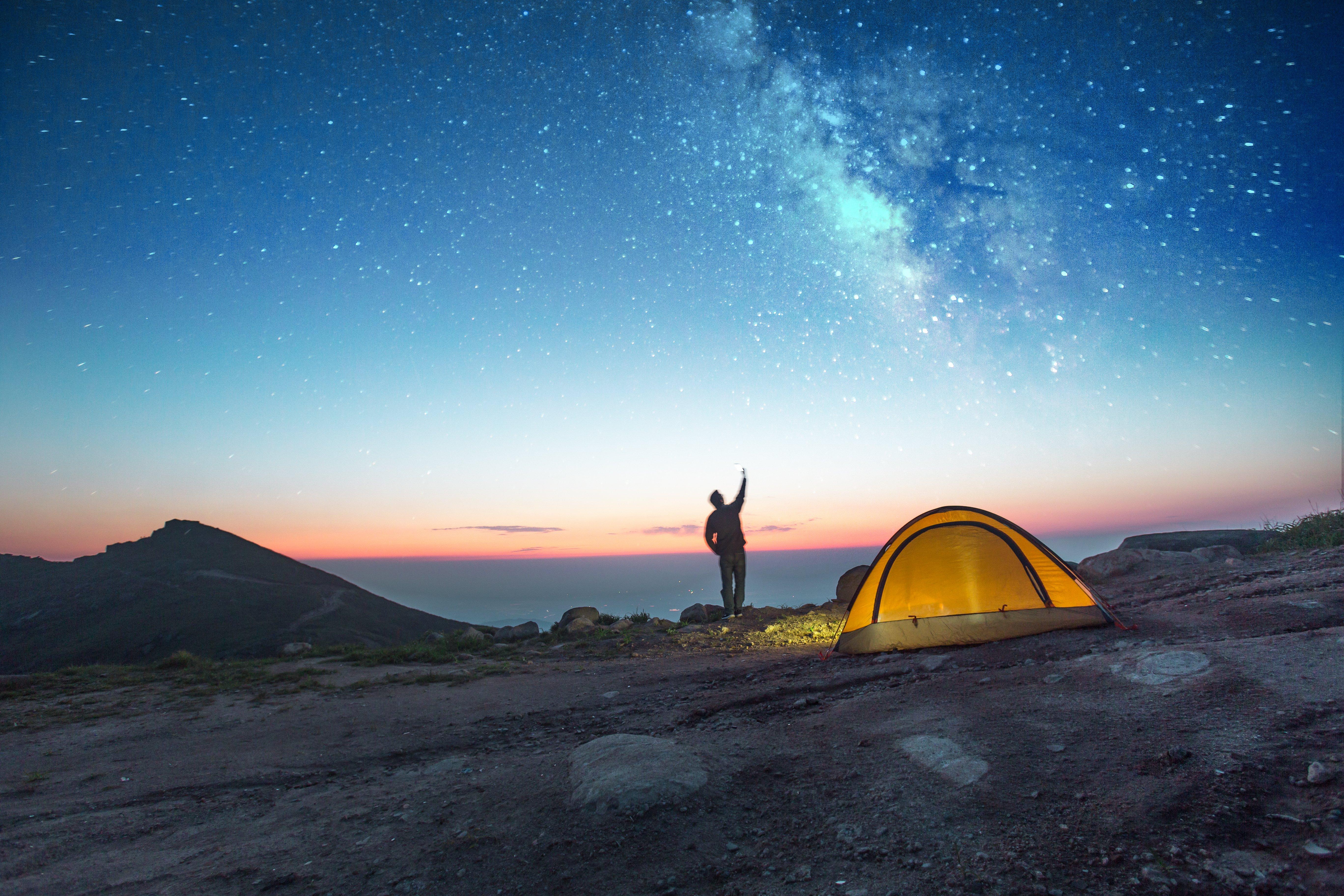 Dormire sotto le stelle