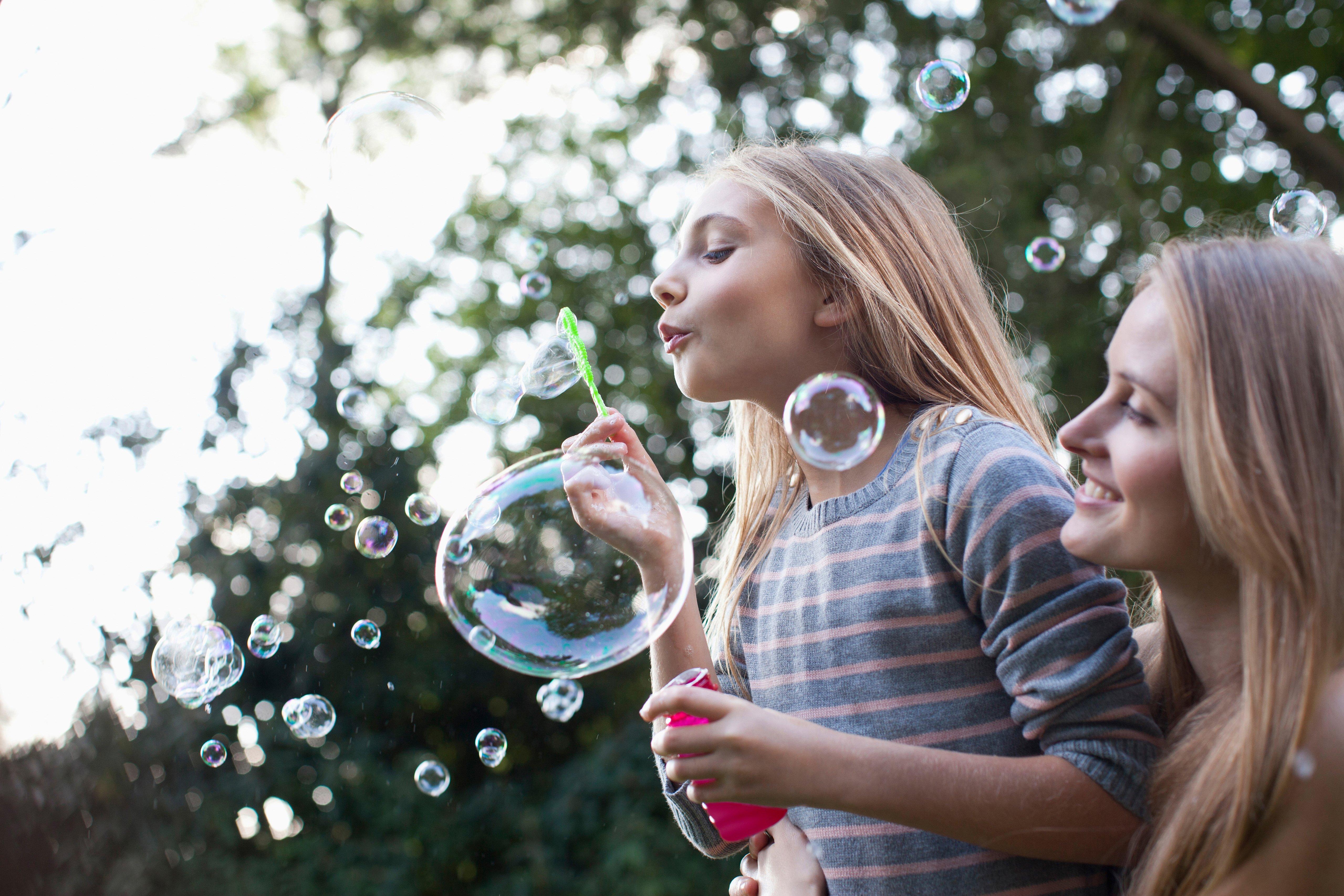 Le bolle di sapone